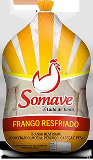 Frango Inteiro Resfriado Somave